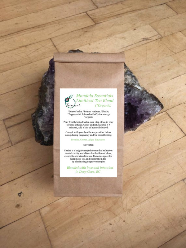 limitless tea blend hand craft small batch artisanal organic canada