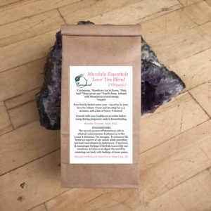 love tea blend hand craft small batch artisanal organic canada