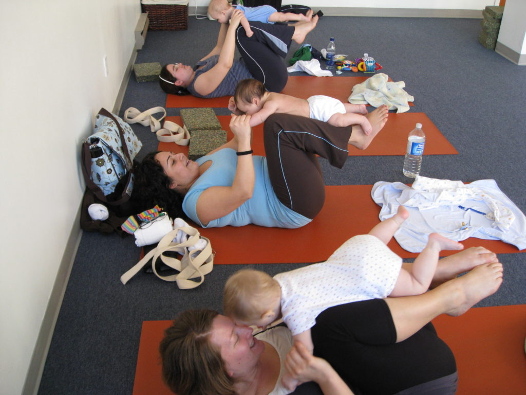 mom and baby toddler kid yoga class vancouver