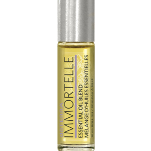 Immortelle Touch Roller Bottle Rollable Essential Oil Glass Ball Tip British Columbia Canada