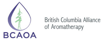 BCAOA British Columbia Alliance of Aromatherapists Association Registered Aromatherapist